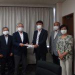 5月27日、日本共産党荒川区議団は、新型コロナウイルス緊急事態宣言解除にあたっての緊急要望(第6次)を提出しました。