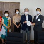 日本共産党荒川区議団は、PCR検査拡大などを柱にした「新型コロナウイルス感染拡大の危機的状況に際しての緊急申し入れ(第8次)」を行いました。